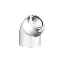 Køb Aftræk Connext 80/125 mm vinkel 45° | 342923080