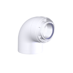 Køb Aftræk connext vinkel 87° 80/125mm | 342924080
