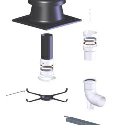 Køb Aftræk Connext 80 mm grundpakke Flex | 342932085