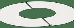 Køb Aftræk connext loftkrave hvid 0-10° 80/125 | 342984080