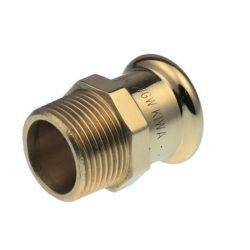 Køb Overgang VSH muffe/nippel 15 mm X 3/4 CU | 047730176