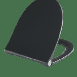 Køb Pressalit Sway Norden toiletsæde sort med soft close & lift-off   615062001