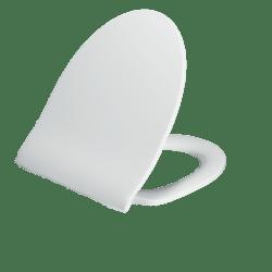 Køb Pressalit 956 toiletsæde hvid med soft close | 615065000