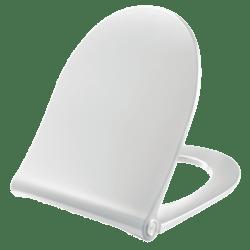 Køb Pressalit Spira Art toiletsæde hvid med soft close og quick release   615071000
