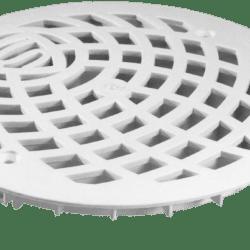Køb Rist purus hvid rund Ø150 mm | 153479420