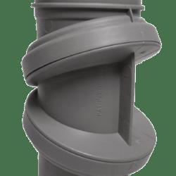 Køb Bøjning drejelig grå 32 mm muffe | 186193032