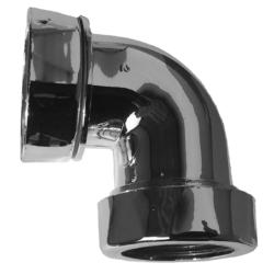 Køb Purus vinkelkobling 90° forkromet PP | 750361320