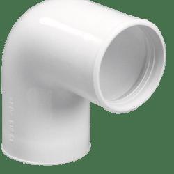 Køb Purus vinkel 90° 32 mm hvid PP/TPE | 752014032