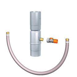 Køb RHEINZINK regnvandssamler med Gardenastik 87 mm | 276659050