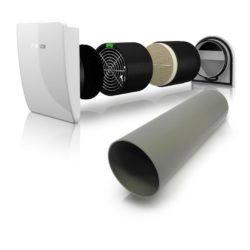 Køb Bosch Vent 2000 D - med yderskærm | 358810516