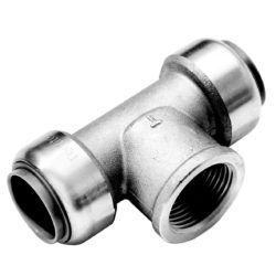 """Køb Roth tee rustfri stål 22 mm x 12"""" x 22 mm"""