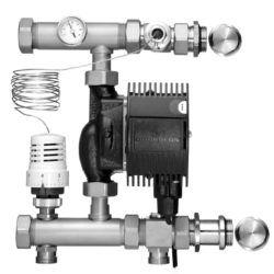 Køb Gulvvarmeshunt Roth uni med termostatisk ventil