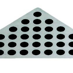 Køb Rist Unidrain classic hjørne 3 mm