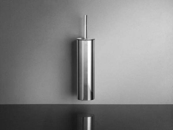 Køb Unidrain ReFrame toiletbørste (væg) poleret stål   778568107
