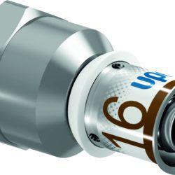 "Køb Uponor S-Press PLUS preskobling muffe/muffe 25 mm x 1"" | 045482315"