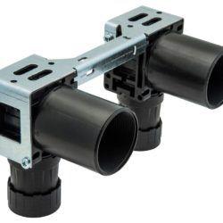 Køb Koblingsdåse Uponor PEX M7A dobbelt 16 mm X 1/2 | 087272416
