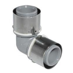 Køb Presvinkel PPSU Uponor 90° 25 mm | 087430125
