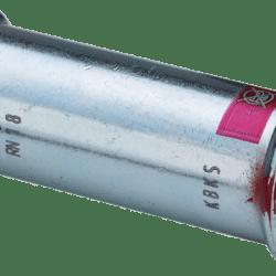 Køb Prestabo skydemuffe 28 mm forzinket stål   033916028