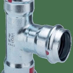 Køb Prestabo T-stykke 54 mm forzinket stål | 033930054