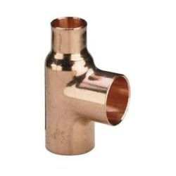 Køb Viega T-stykke 22 x 15 x 18 mm kobber | 042130268