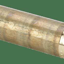 """Køb Viega nippelrør 1"""" x 200 mm rødgods"""