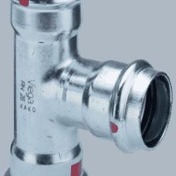 Køb Prestabo T-stykke 15 mm forzinket stål   33930015