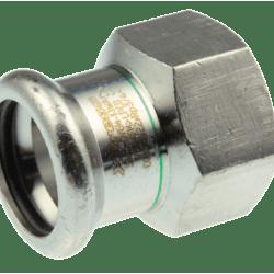 Køb VSH overgang muffe/muffe 28 mm X 3/4 syrefast