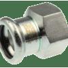 Køb VSH overgang muffe/muffe 35 mm X 11/2 syrefast