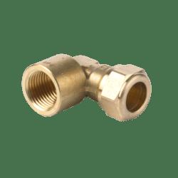 Køb VSH kompression vinkel 90° muffe 22 mm X 1/2 | 044023263