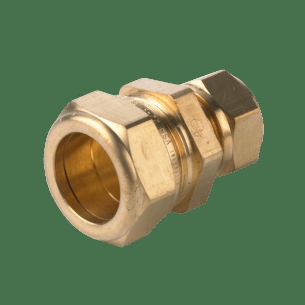 Køb VSH kompression kobling lige 18X12 mm