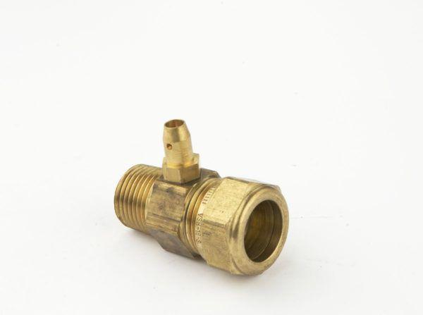 Køb VSH gasprøvestuds 18 mm X 1/2 | 408947018
