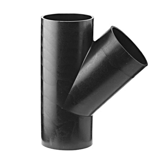Køb Akatherm Ø125/125 mm X 45° Peh Grenrør   184056720