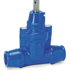 Køb Stikledningsventil AVK 63 mm indstik muffer støbejern   144816063