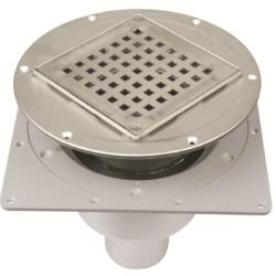 Køb Blucher Metal afløb Square til svalehaleplader 75 mm justerbart | 153588113
