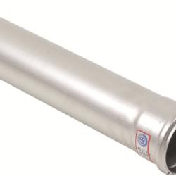 Køb Blucher Metal afløbsrør 75X1500 mm muffe rustfri | 160124150