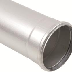 Køb Blucher Metal afløbsrør 160X2000 mm muffe rustfri | 160132200