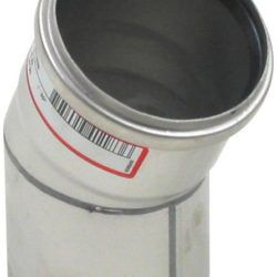 Køb Blucher Metal bøjning 30° 82 mm rustfri | 160207082
