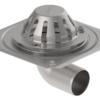 Køb Blucher Metal tagafløb til selvfald og tagfolie 280 x 280 mm Ø75 mm | 164103075