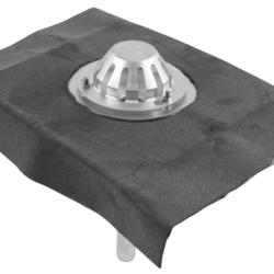 Køb Blucher Metal tagafløb til vakuum med bitumenkrave 400 x 400 mm Ø40 mm | 164112040