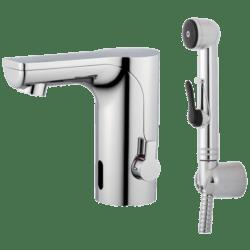 Køb Mora MMIX Tronic berøringsfrit håndvask armatur med håndbruser | 704360004