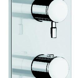 Køb Damixa Merkur bruse termostat til indbygning udvendige dele | 722203104