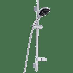 Køb FM Mattsson Siljan Brusesæt med 3 stråleindstillinger 1750 mm slange krom | 737538334