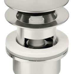Køb Damixa bundventil med klik-funktion steel (pvd) | 745121337