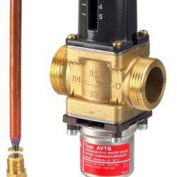 """Køb Danfoss AVTB 25 termostatisk ventil 1"""" 30-100 003N5143   451009330"""