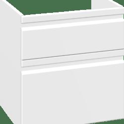 Køb Dansani DSC vaskeskab med LED-lys 64 x 60 x 44 cm hvid mat | 780914530