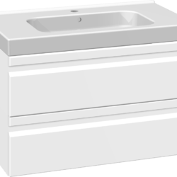 Køb Dansani DSC møbelsæt med skuffer og Menuet vask 81 x 45