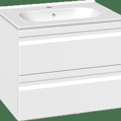 Køb Dansani DSC møbelsæt med skuffer og Kantate vask 61 x 45