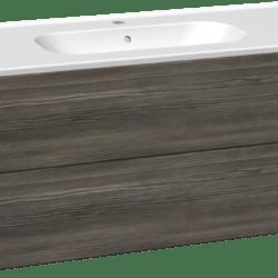Køb Dansani DSC møbelsæt med skuffer og Kantate vask 121 x 45