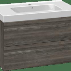 Køb Dansani DSC møbelsæt med skuffer Menuet vask og LED 81 x 45