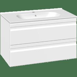 Køb Dansani DSC møbelsæt med skuffer Kantate vask og LED 81 x 45